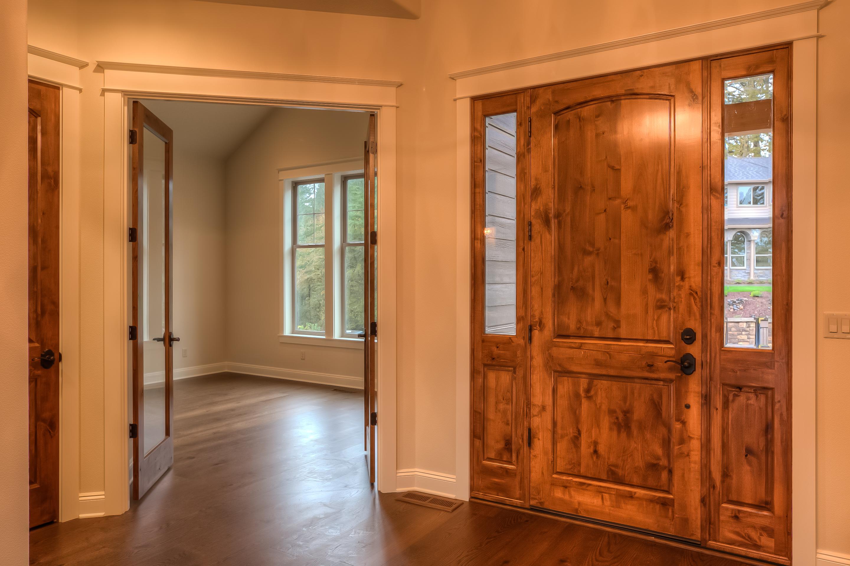 installing double doors knotty alder interior installation